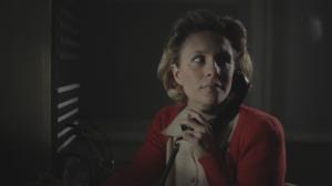 Bente van den Brand in de rol van Marga Bormann.