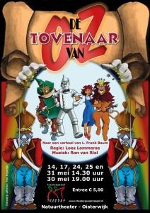 Affiche-ontwerp met naam Ton Klijndijk